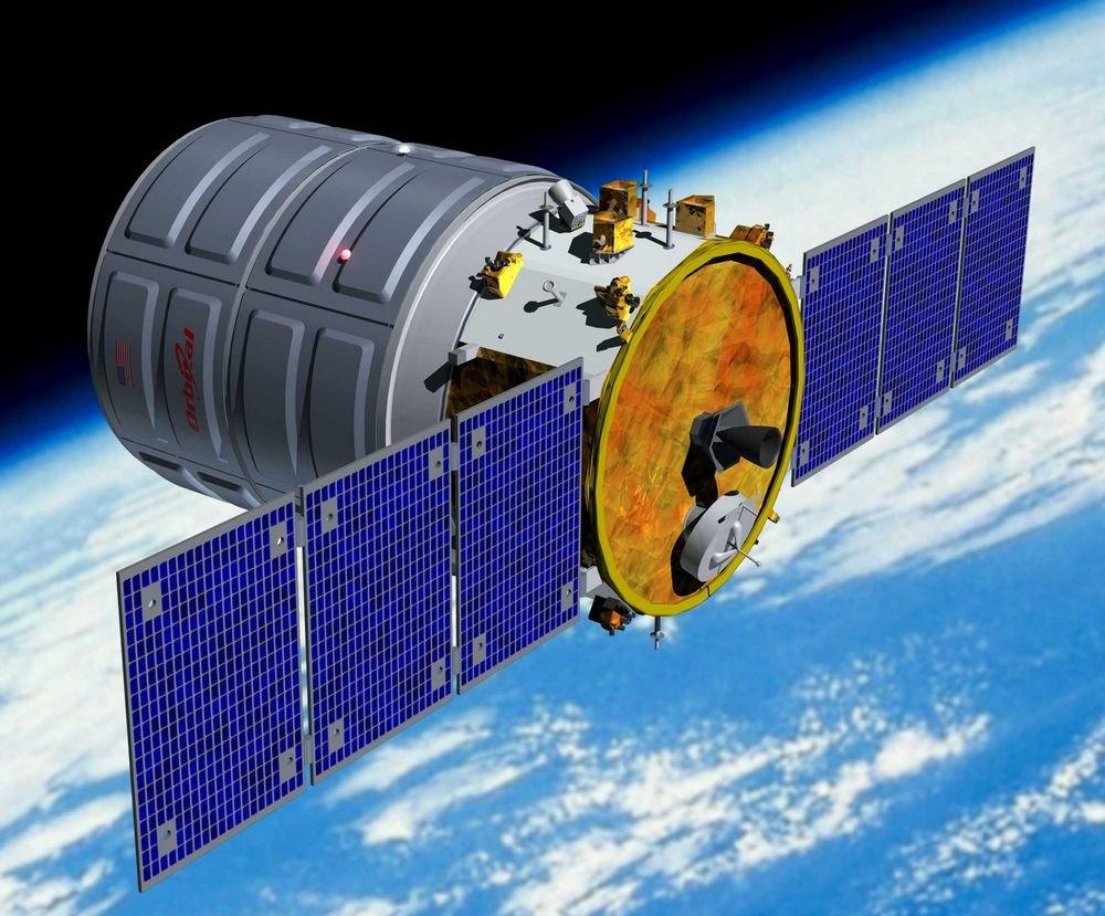 Началась загрузка оборудования в Cygnus.